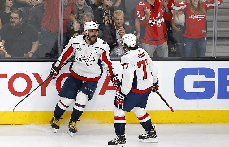 Capitals hoist first Stanley Cup in franchise history