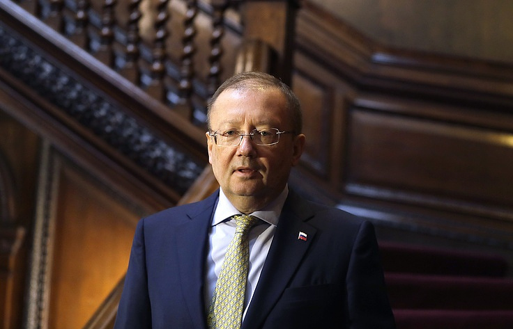 Russian Ambassador in London Alexander Yakovenko