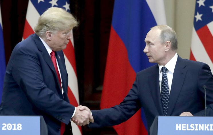 US President Donals Trump and Russian President Vladimir Putin