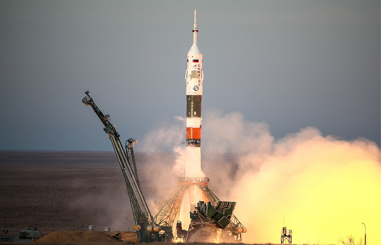 Russia Successfully Launches First Manned Rocket Into Space Since October Failure