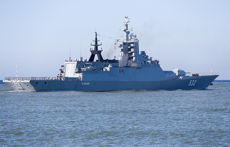 Russian senator says US warship in Black Sea should keep its distance