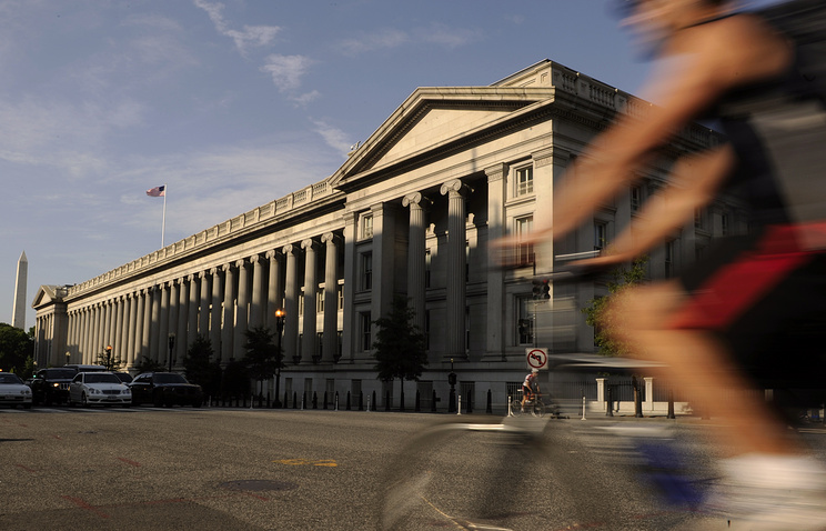 US Treasury Building in Washington