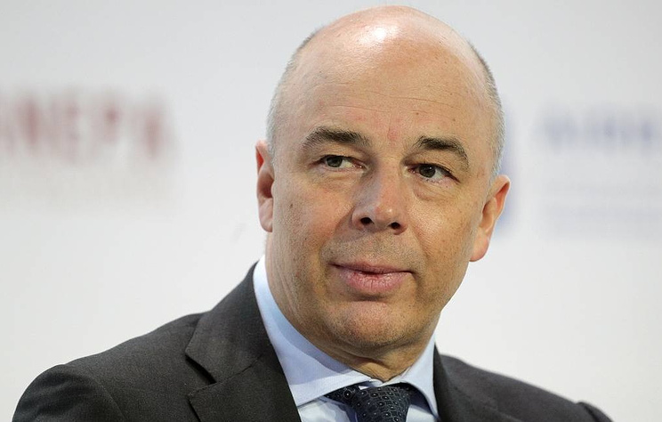 Russian First Deputy Prime Minister and Finance Minister Anton Siluanov