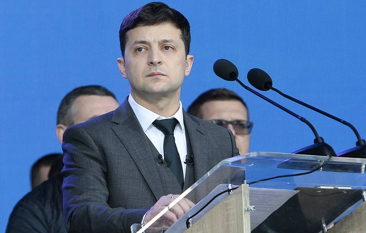 TV actor wins Ukraine presidential vote in a landslide