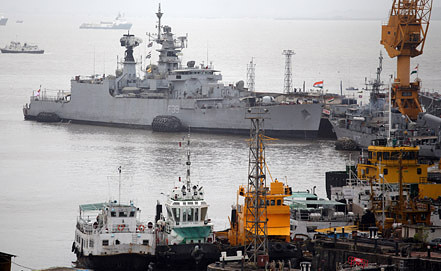 Mumbai port. Photo EPA/ITAR-TASS