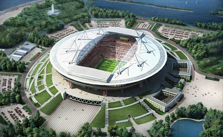St. Petersburg stadium rendering. Photo ITAR-TASS