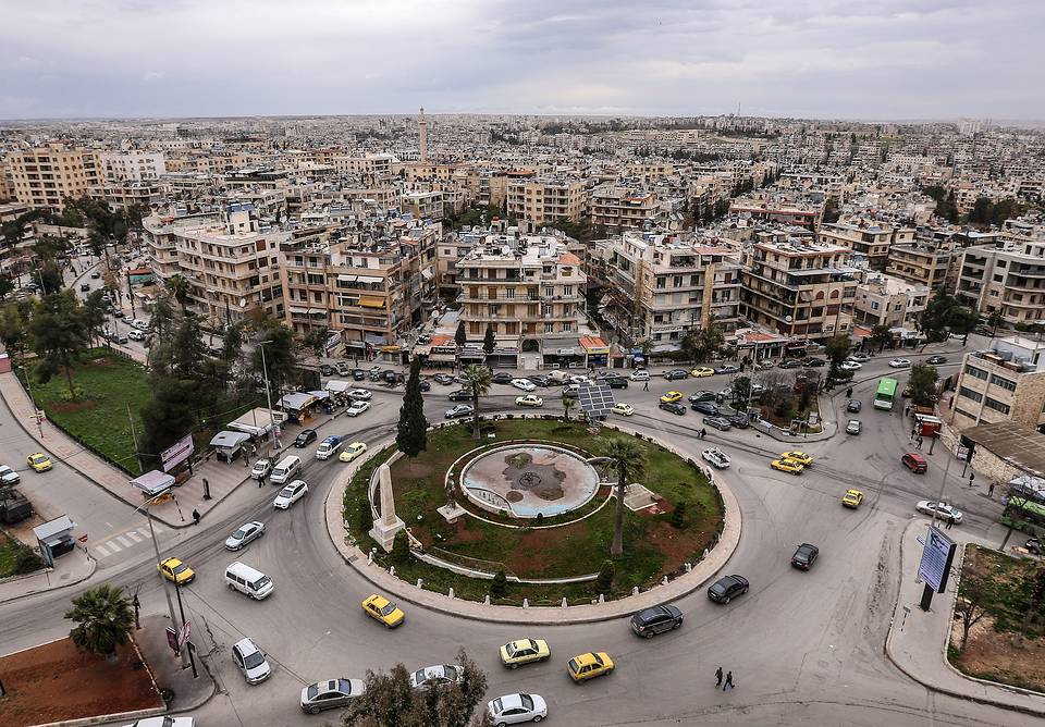 A view of the Syrian city of Aleppo, March 5, 2016 Valery Sharifulin/TASS