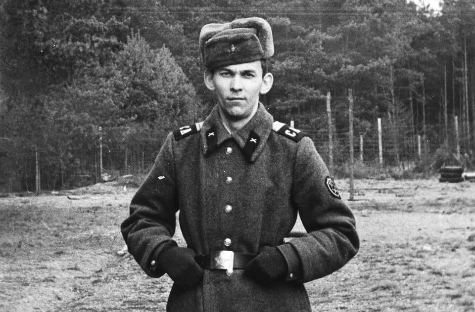 Vladimir Urin is pictured while serving in Germany, 1972  Personal archive of Vladimir Urin