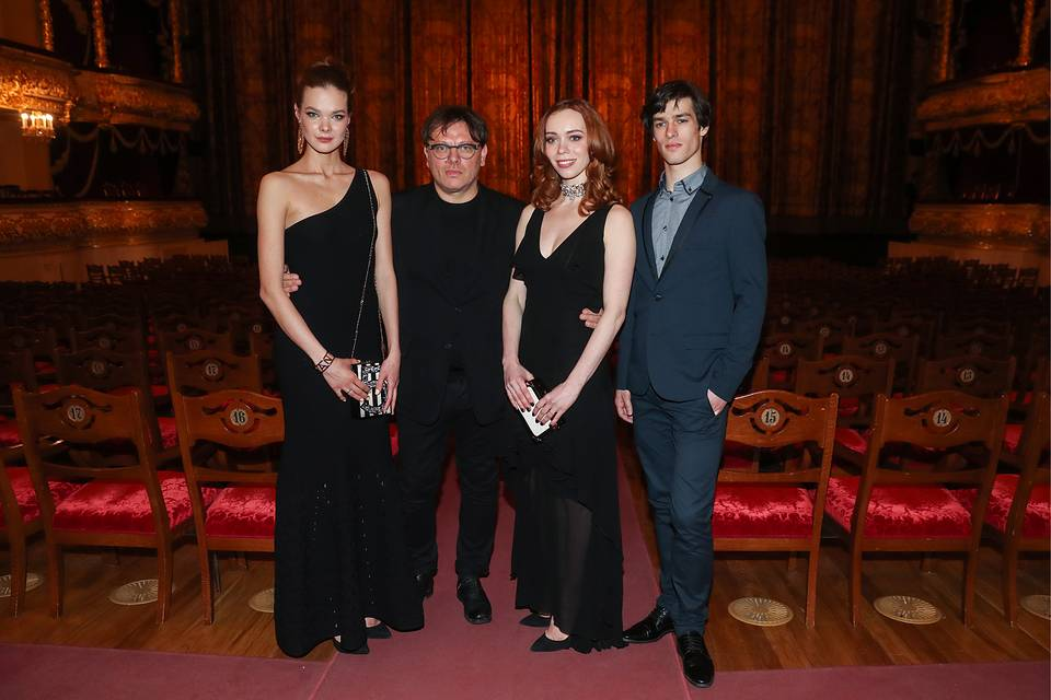 Ballet dancer Anna Isayeva, Russian film director Valery Todorovsky, Margarita Simonova, principal dancer of Warsaw's Grand Theater and Andrei Sorokin, former principal dancer of the Yekaterinburg State Academic Opera and Ballet Theater Valery Sharifulin/TASS
